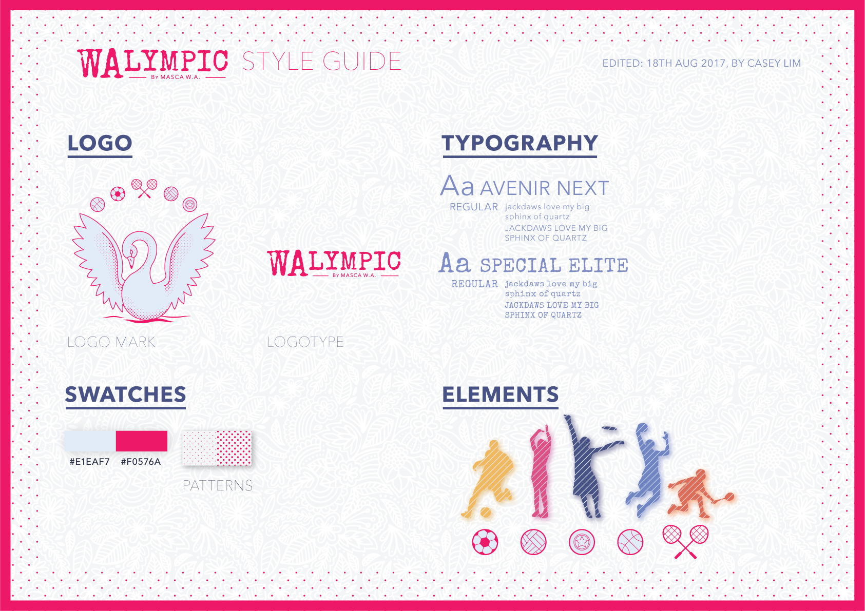 Merdeka Month Style Guide Walympic